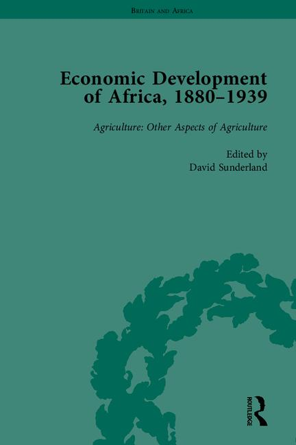 Economic Development of Africa, 1880–1939 book cover