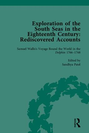 Exploration of the South Seas in the Eighteenth Century: Rediscovered Accounts book cover