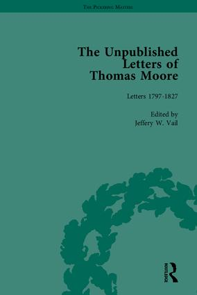 The Unpublished Letters of Thomas Moore book cover