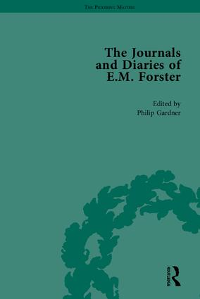 The Journals and Diaries of E M Forster: 1st Edition (Hardback) book cover