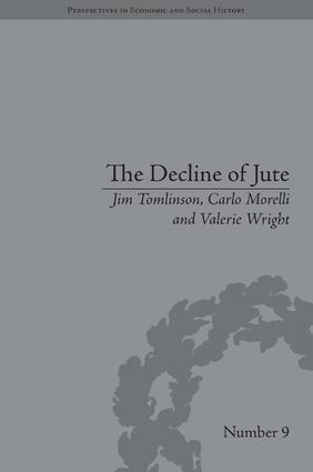 The Decline of Jute: Managing Industrial Change (Hardback) book cover