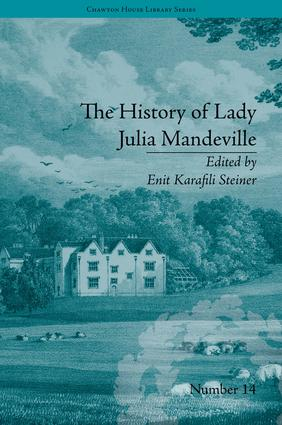 The History of Lady Julia Mandeville: by Frances Brooke, 1st Edition (Hardback) book cover