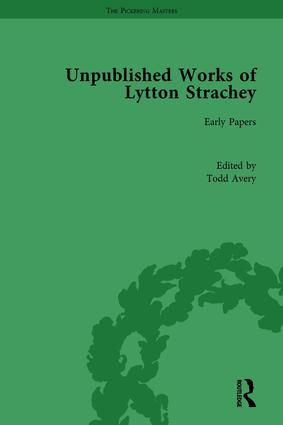 Unpublished Works of Lytton Strachey book cover