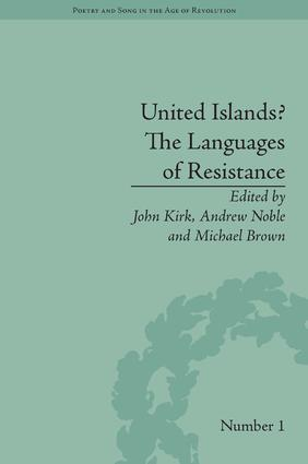 United Islands? The Languages of Resistance: 1st Edition (Hardback) book cover