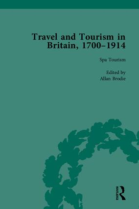 Travel and Tourism in Britain, 1700–1914 (Hardback) book cover