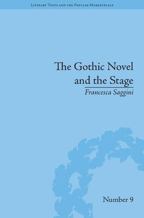 The Gothic Novel and the Stage: Romantic Appropriations book cover