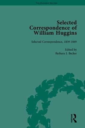 Selected Correspondence of William Huggins book cover