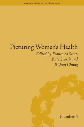 Picturing Women's Health: 1st Edition (Hardback) book cover