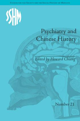 Psychiatry and Chinese History book cover