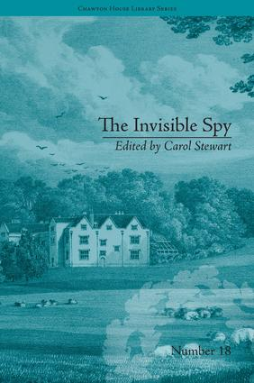 The Invisible Spy: by Eliza Haywood book cover