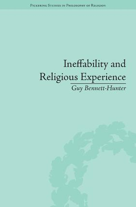 Ineffability and Religious Experience: 1st Edition (Hardback) book cover