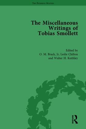 The Miscellaneous Writings of Tobias Smollett book cover