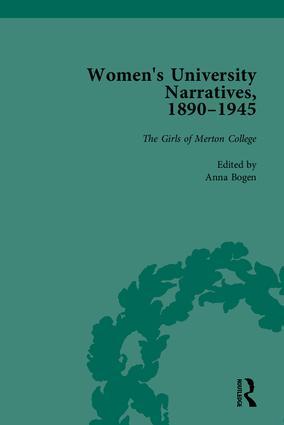 Women's University Narratives, 1890–1945, Part I