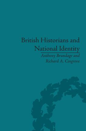 British Historians and National Identity: From Hume to Churchill, 1st Edition (Hardback) book cover
