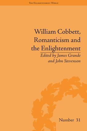 William Cobbett, Romanticism and the Enlightenment: Contexts and Legacy book cover