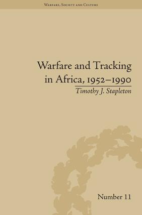 Warfare and Tracking in Africa, 1952–1990 book cover
