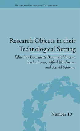 Research Objects in their Technological Setting (Hardback) book cover