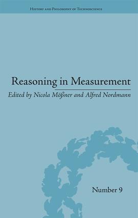 Reasoning in Measurement: 1st Edition (Hardback) book cover