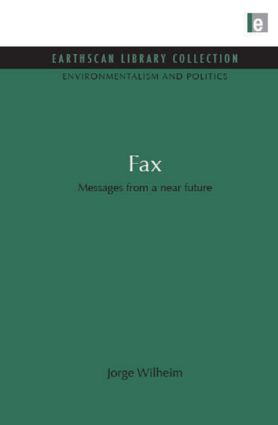 Fax: Messages from a near future (Hardback) book cover