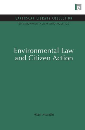 Environmental Law and Citizen Action (Hardback) book cover