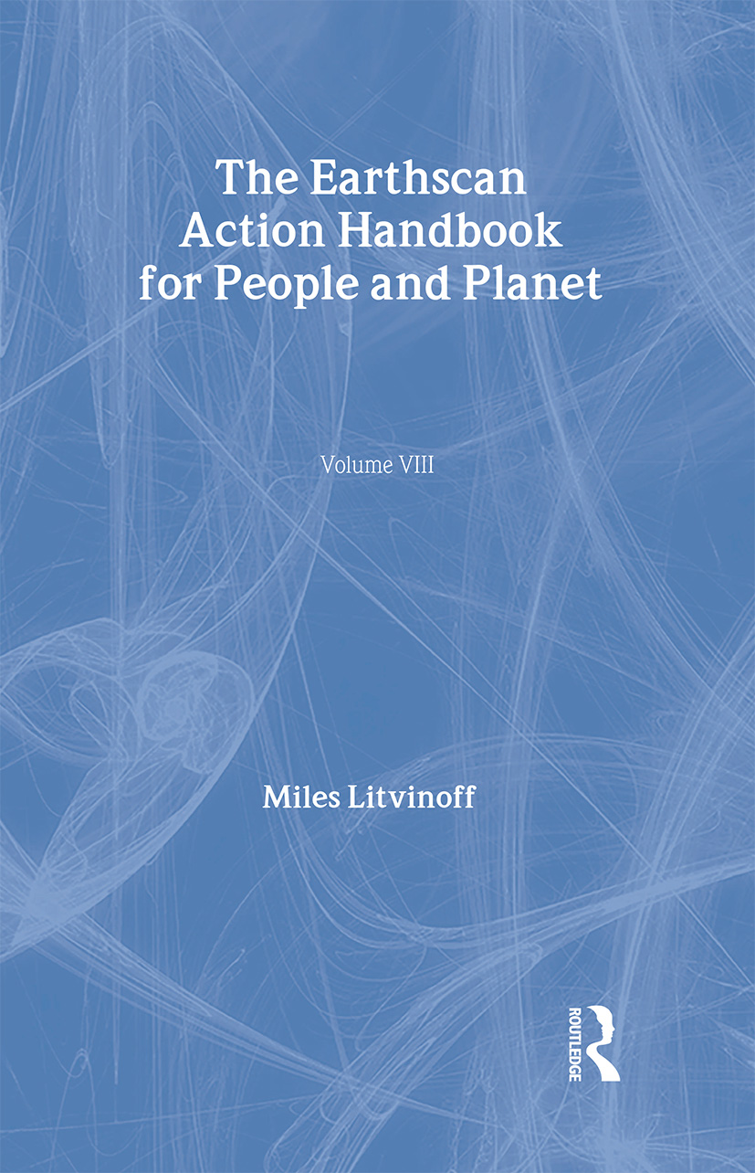 The Earthscan Action Handbook for People and Planet (Hardback) book cover