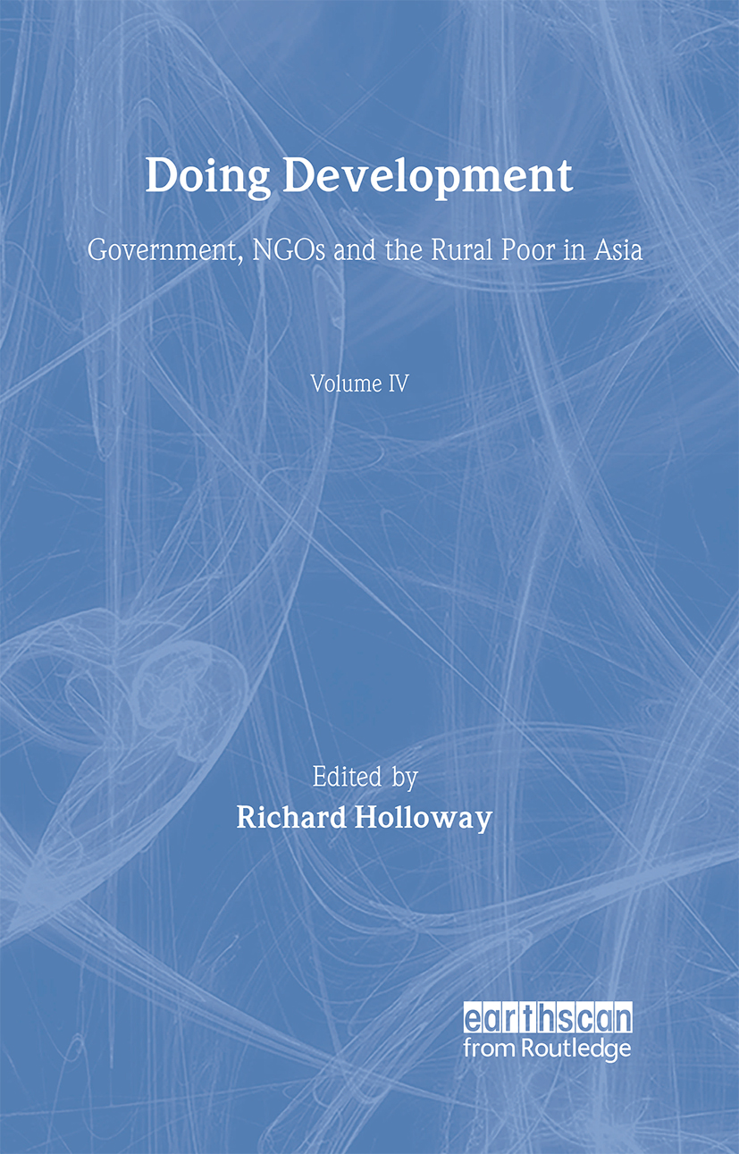 Doing Development: Government, NGOs and the rural poor in Asia (Hardback) book cover