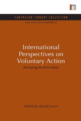 International Perspectives on Voluntary Action: Reshaping the Third Sector, 1st Edition (Hardback) book cover