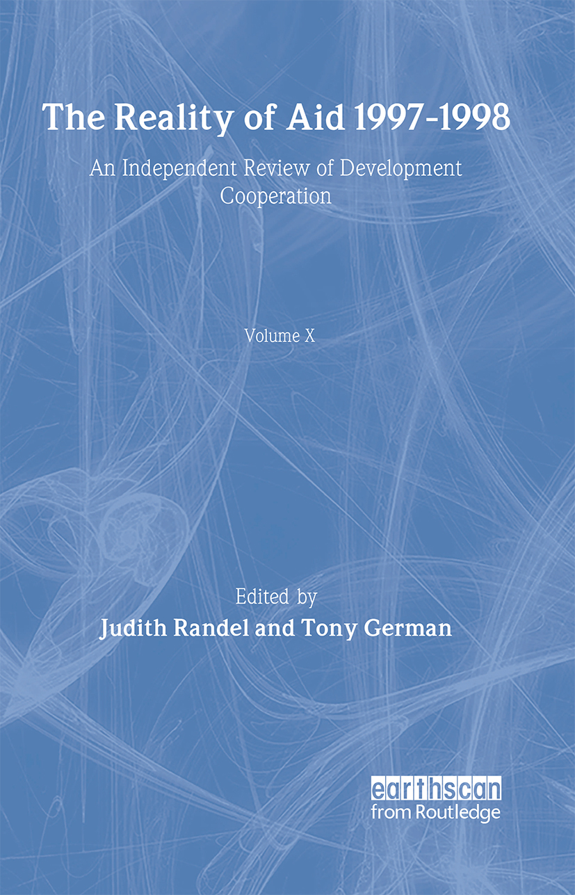 The Reality of Aid 1997-1998: An independent review of development cooperation (Hardback) book cover