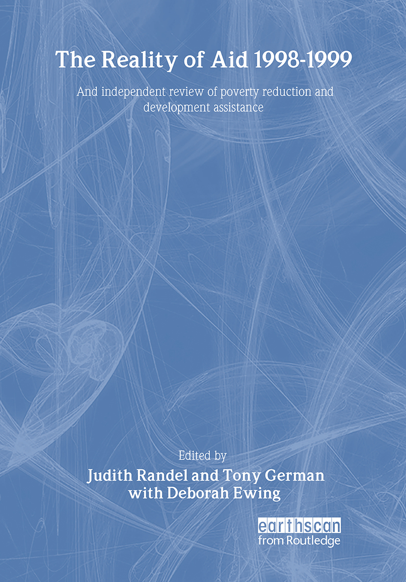 The Reality of Aid 1998-1999: An independent review of poverty reduction and development assistance (Hardback) book cover