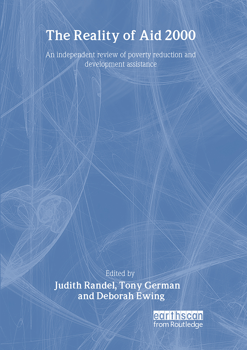 The Reality of Aid 2000: An independent review of poverty reduction and development assistance (Hardback) book cover