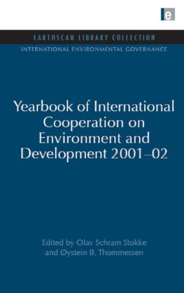 Yearbook of International Cooperation on Environment and Development 2001-02 (Hardback) book cover