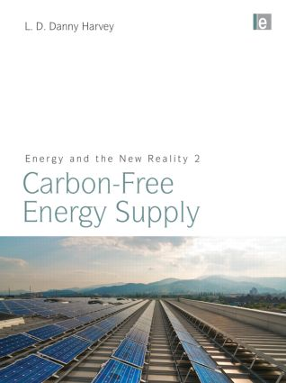 Energy and the New Reality 2: Carbon-free Energy Supply (Paperback) book cover