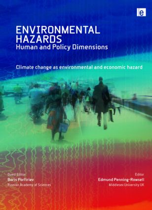 Climate Change as Environmental and Economic Hazard (Hardback) book cover