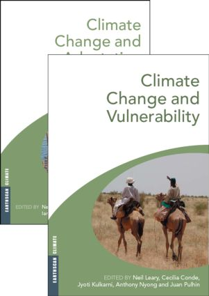 Climate Change and Vulnerability and Adaptation: Two Volume Set (Hardback) book cover