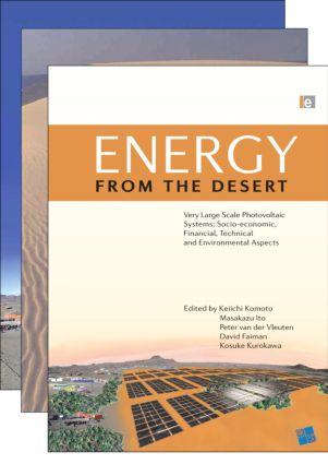 Energy from the Desert 3-Volume Set (Hardback) book cover