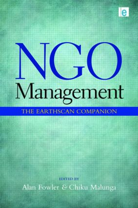 NGO Management: The Earthscan Companion (Paperback) book cover