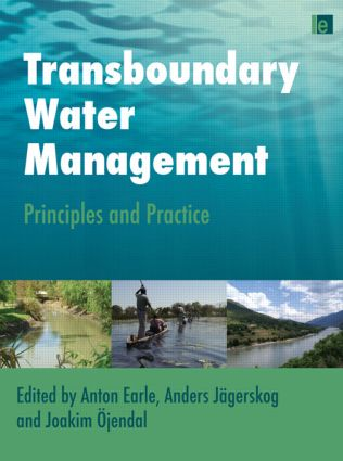 Transboundary Water Management: Principles and Practice (Paperback) book cover