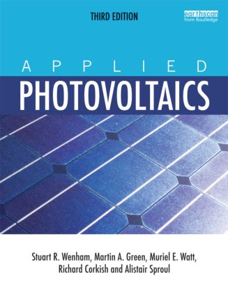 Applied Photovoltaics: 3rd Edition (Paperback) book cover