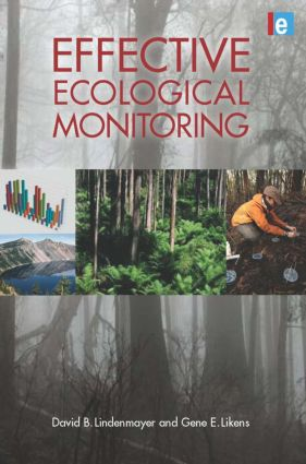 Effective Ecological Monitoring: 1st Edition (Hardback) book cover