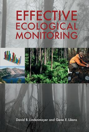 Effective Ecological Monitoring: 1st Edition (Paperback) book cover