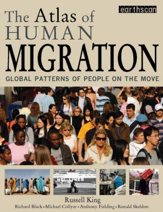 The Atlas of Human Migration: Global Patterns of People on the Move (Paperback) book cover