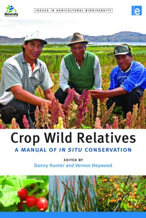 Crop Wild Relatives: A Manual of in situ Conservation book cover