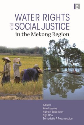 Water Rights and Social Justice in the Mekong Region (Hardback) book cover