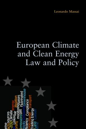 European Climate and Clean Energy Law and Policy (Paperback) book cover
