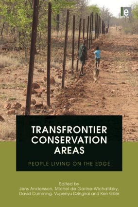 Transfrontier Conservation Areas: People Living on the Edge book cover