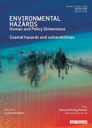 Coastal Hazards and Vulnerability (Hardback) book cover