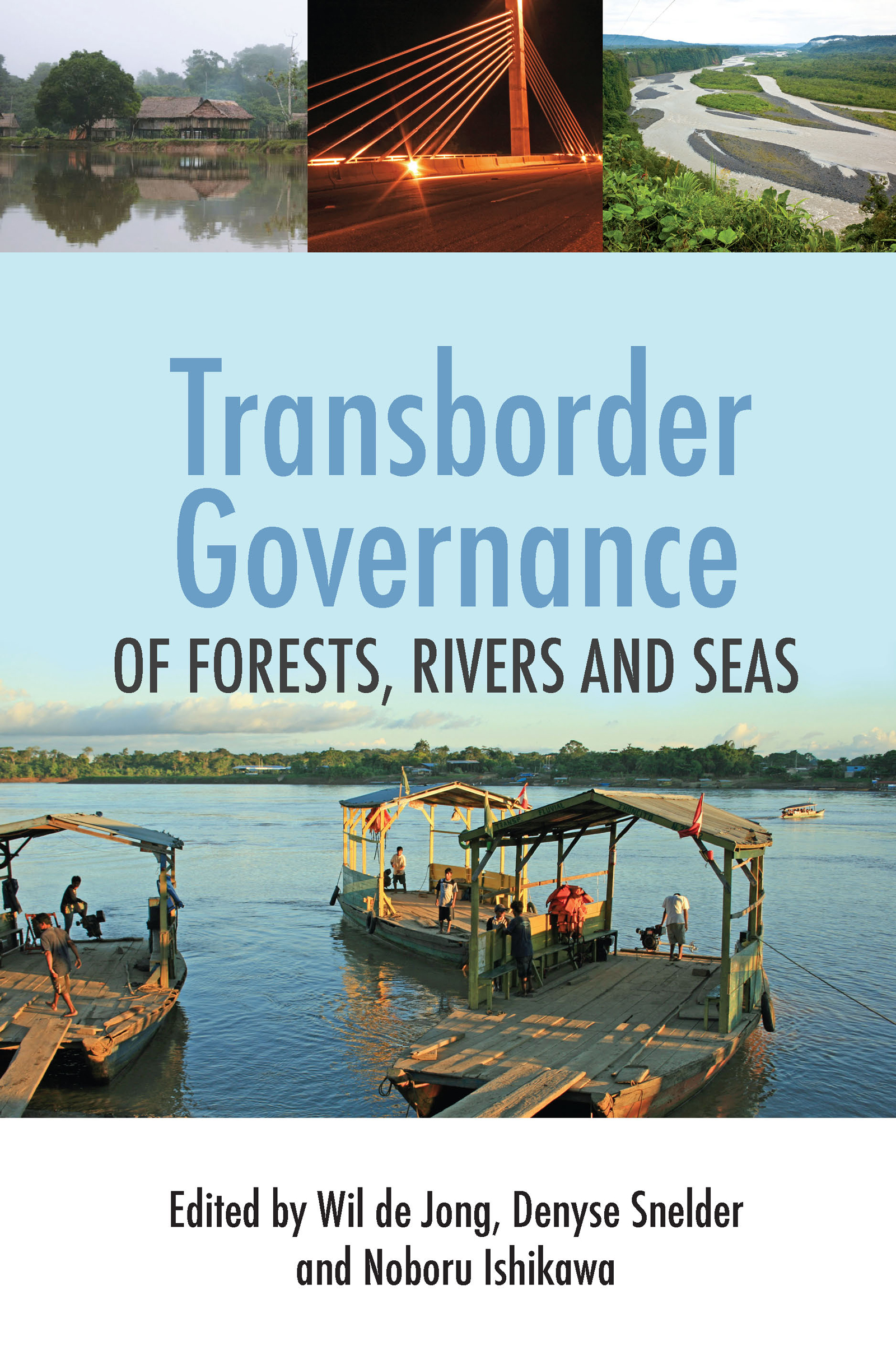 Transborder Governance of Forests, Rivers and Seas book cover