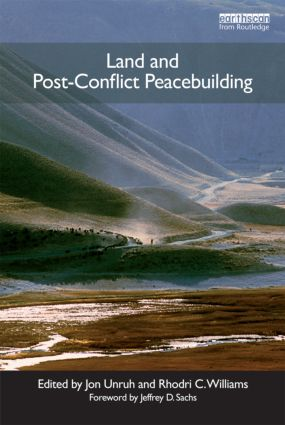 Land and Post-Conflict Peacebuilding (Paperback) book cover