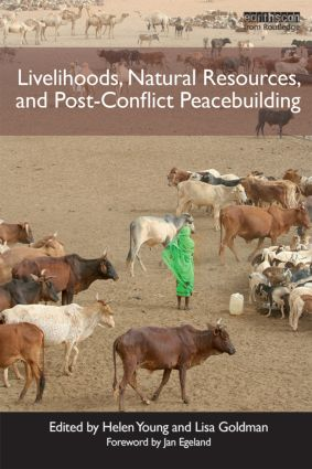 Livelihoods, Natural Resources, and Post-Conflict Peacebuilding (Paperback) book cover