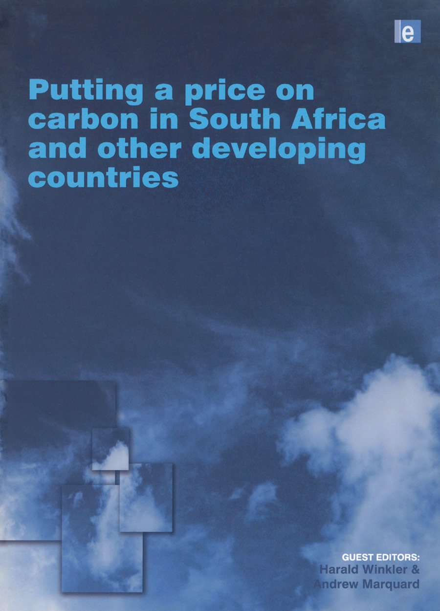 Putting a Price on Carbon in South Africa and Other Developing Countries book cover